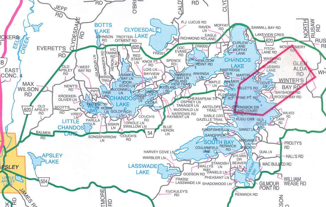 Chandos Lake Real Estate Jack S Lake Real Estate